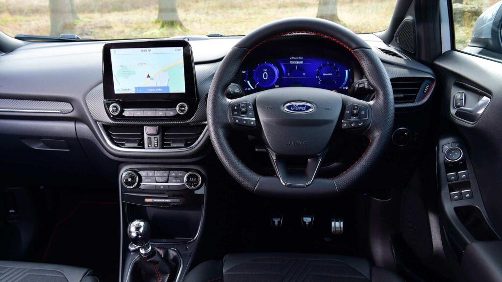 2020 Ford Puma İç Mekan Tasarımı