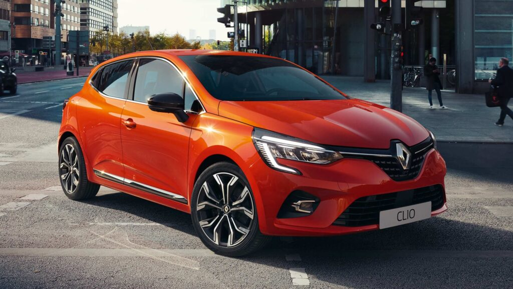 2020 Renault Clio 5 yan tasarım