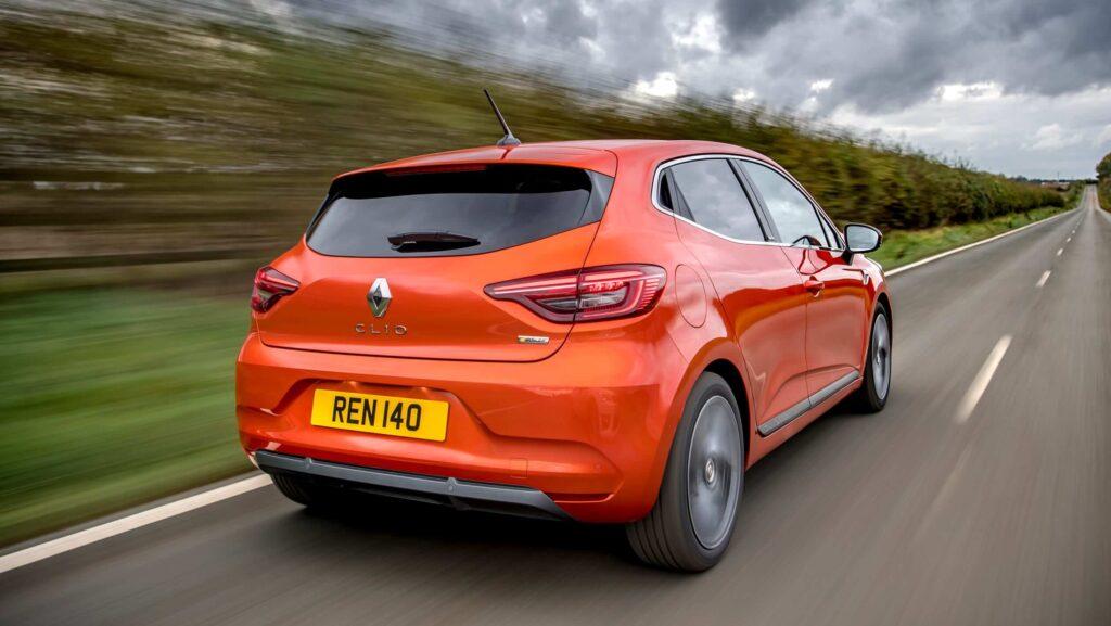 2020 Renault Clio 5 arka tasarım