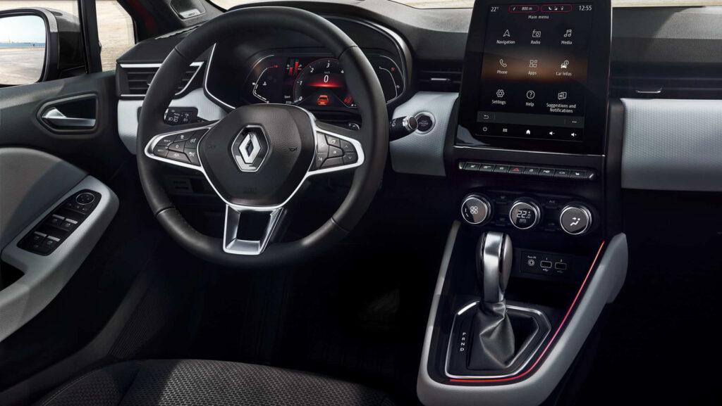 2020 Renault Clio 5 iç mekan