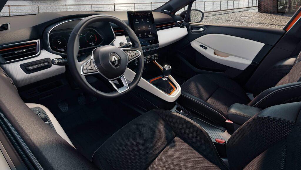 2020 Renault Clio 5 iç mekan fotoğrafları