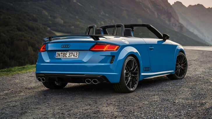 2021 Audi TTS Cabrio