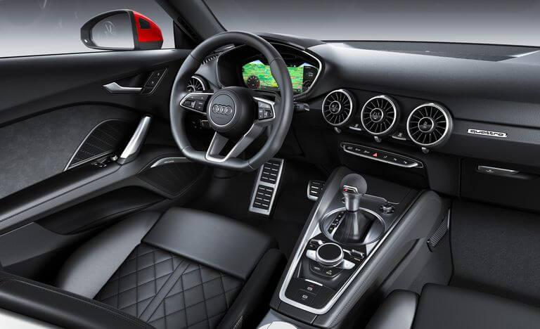 2021 Audi TTS iç mekan