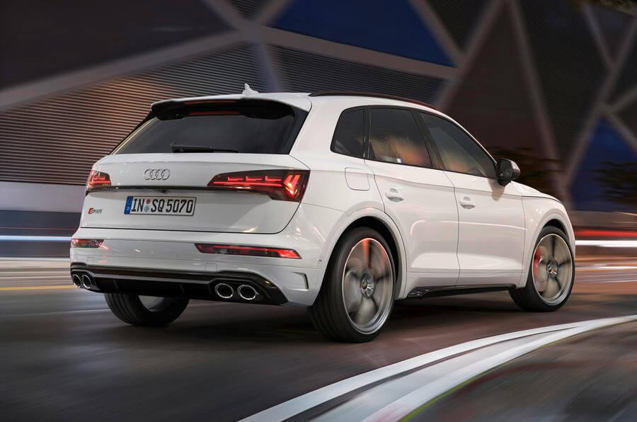 Audi SQ5 Arka Tasarım