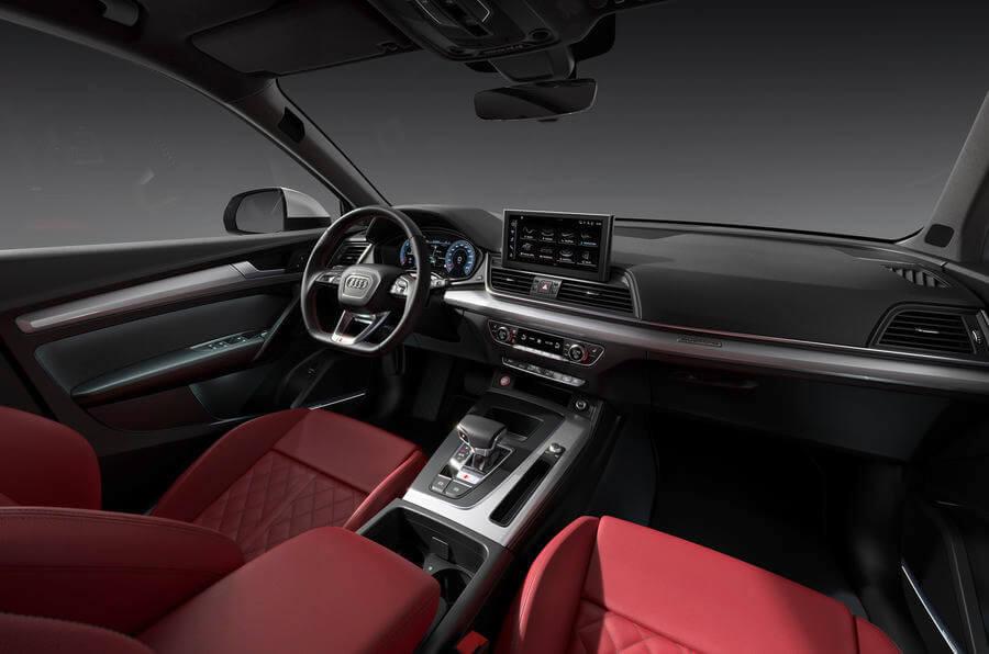 Audi SQ5 İç Mekan