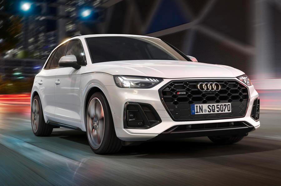 Audi SQ5 Ön Tasarım