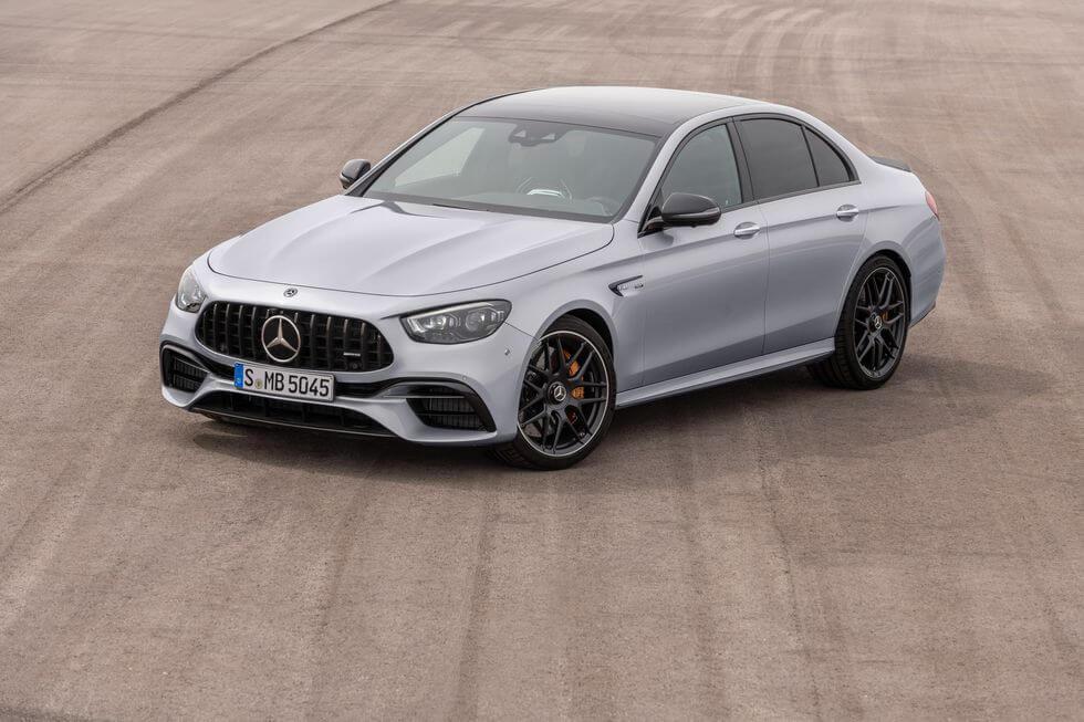 2021 Yeni Mercedes E63 S AMG fotoğrafları