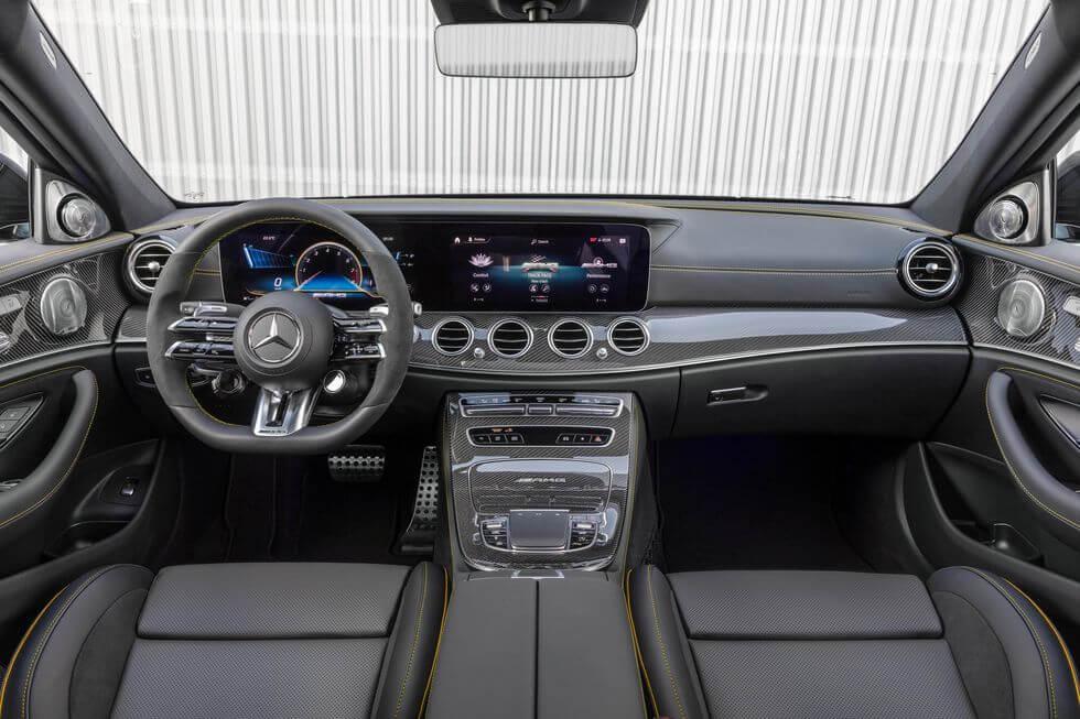 2021 Yeni Mercedes E63 S AMG İç Mekan