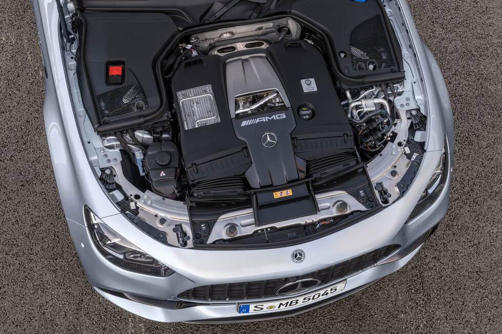 2021 Yeni Mercedes E63 S AMG Motor