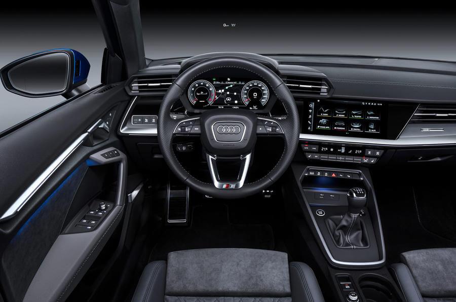 Yeni Audi A3 iç mekan