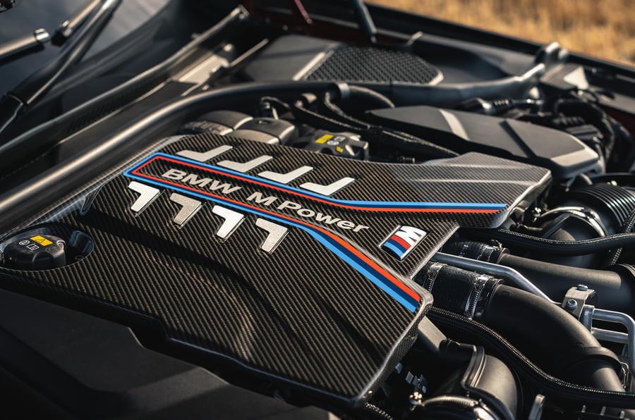 2021 Yeni BMW M5 Competition Motor