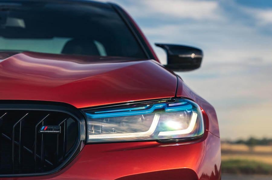 BMW M5 Competition Arka Tasarım