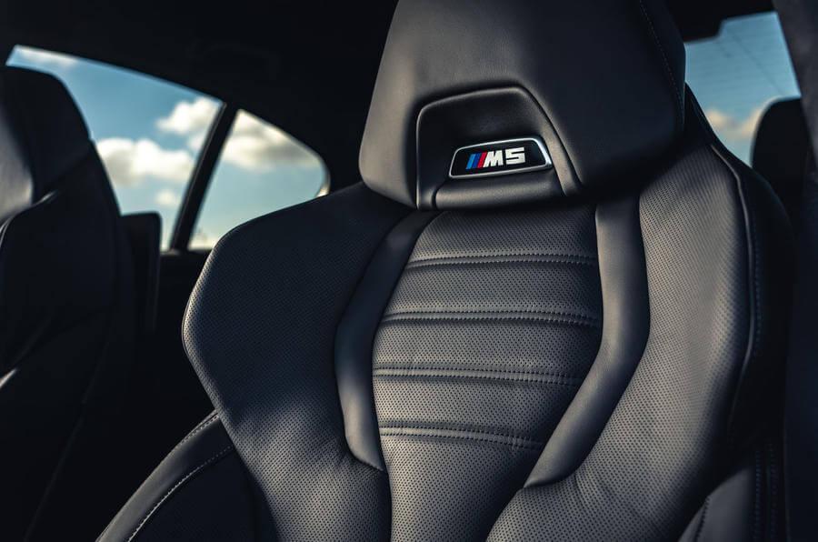 2021 Yeni BMW M5 Competition Spor Koltuklar