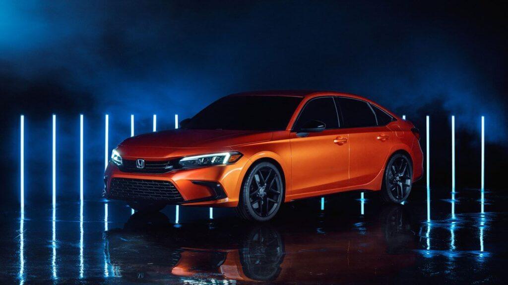 2021 Yeni Honda Civic Fotoğrafları