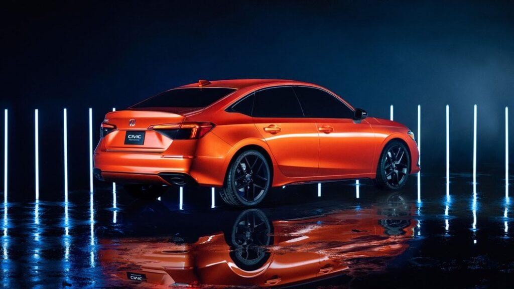 2021 Yeni Honda Civic yan görünüm