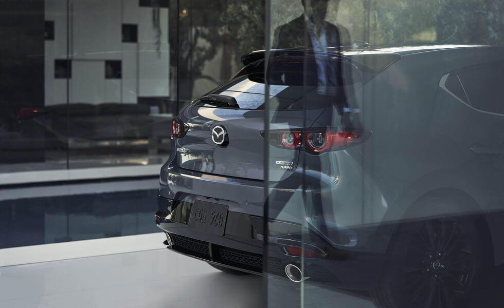 2021 Yeni Mazda3 fotoğrafları