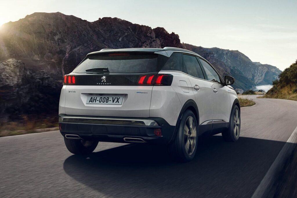 2021 Yeni Peugeot 3008 Arka Tasarım