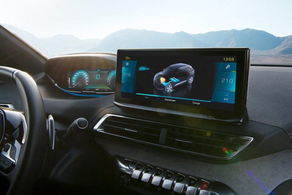 2021 Yeni Peugeot 3008 ekran