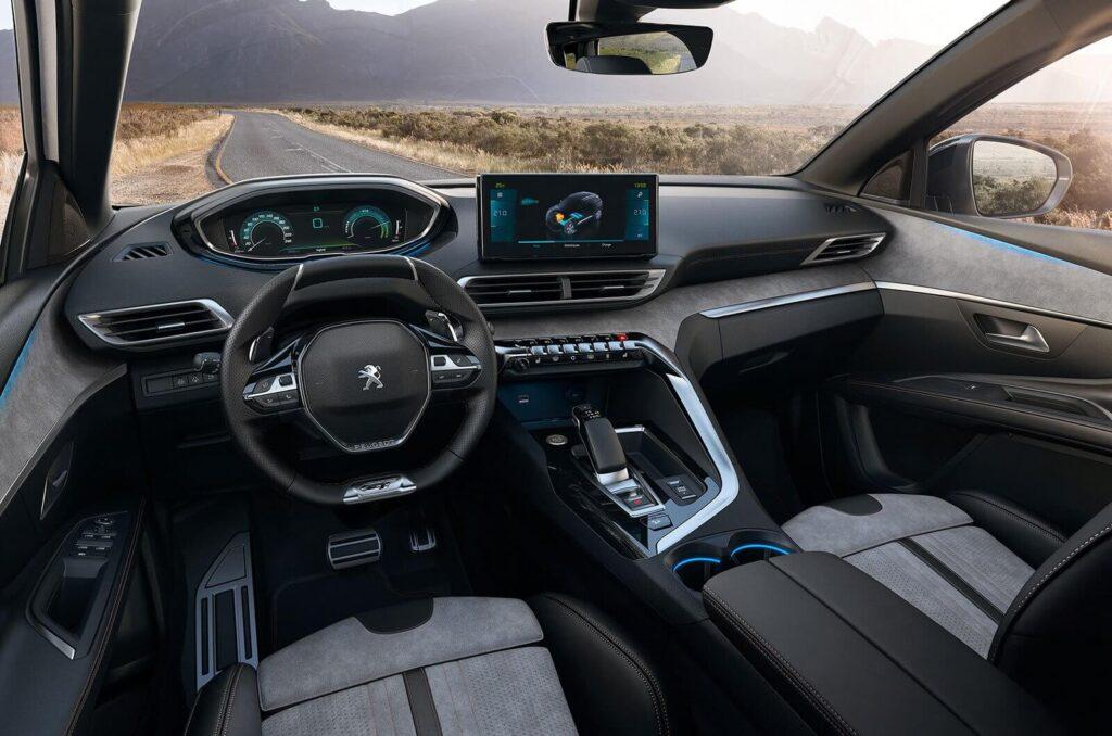 2021 Yeni Peugeot 3008 iç mekan