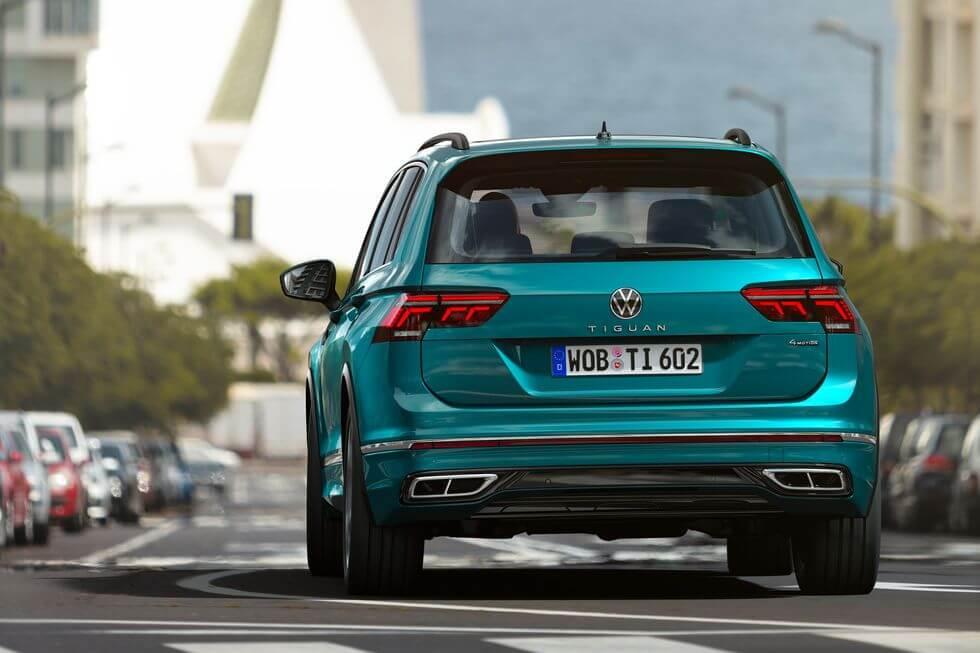 2021 Yeni VW Tiguan arka tasarım