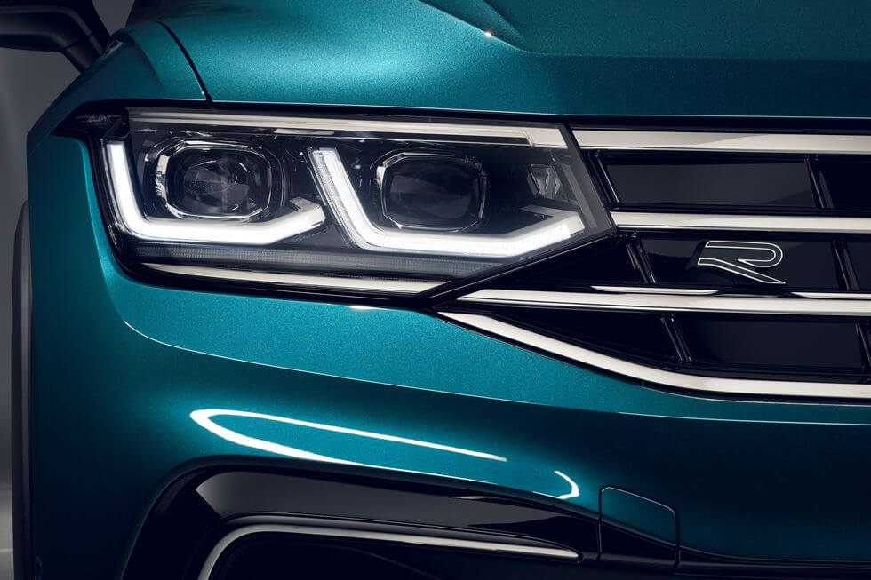 2021 Yeni VW Tiguan led far grubu