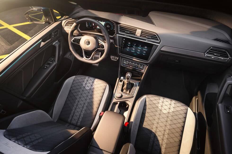 2021 Yeni VW Tiguan iç mekan tasarımı