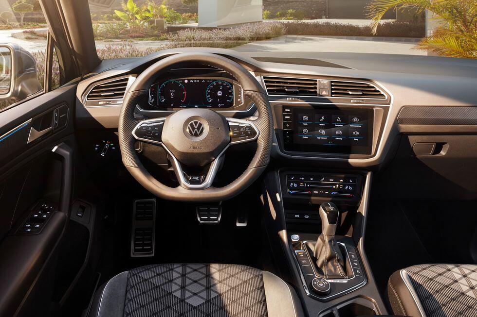 2021 Yeni VW Tiguan yeni iç konsol