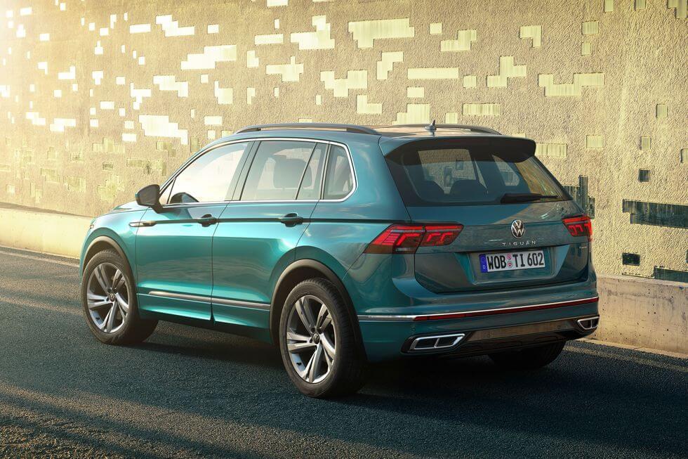 2021 Yeni VW Tiguan yan tasarım