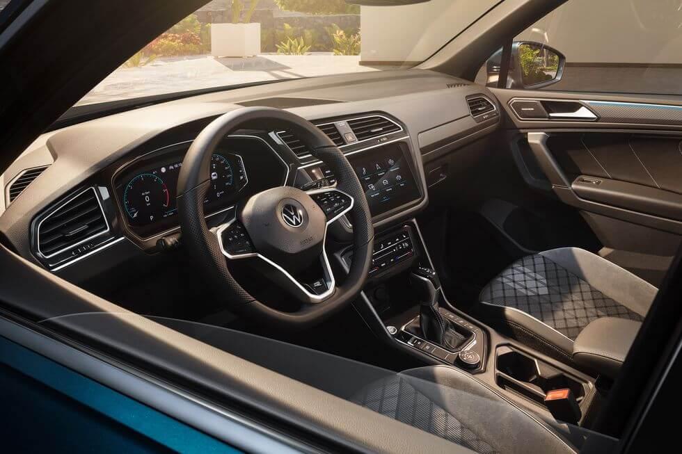 2021 Yeni VW Tiguan iç mekan