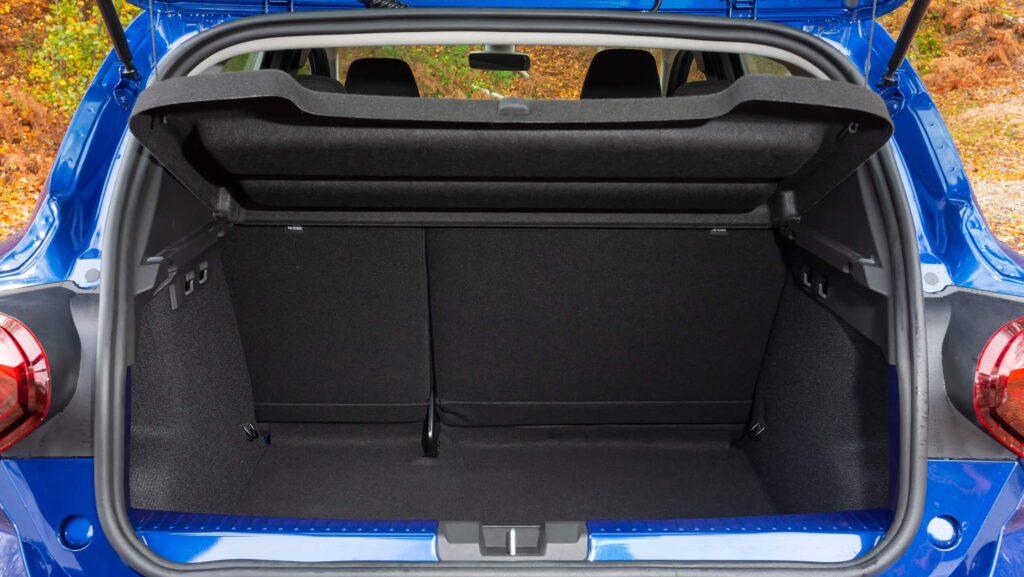 2021 Dacia Sandero bagaj alanı