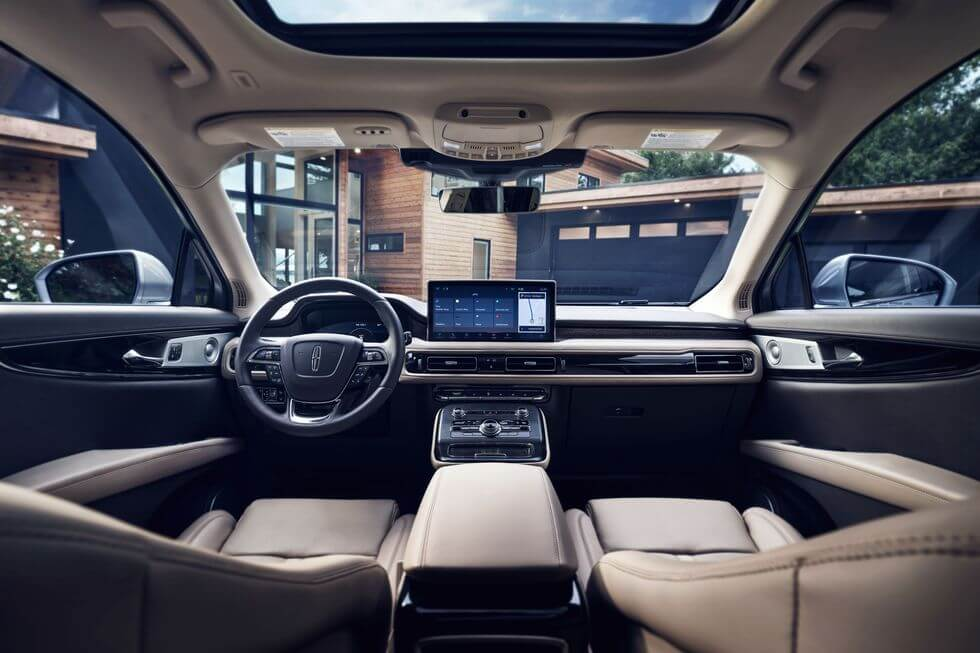 2021 Lincoln Nautilus iç mekan