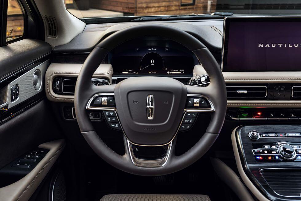 2021 Lincoln Nautilus iç mekan fotoğrafları