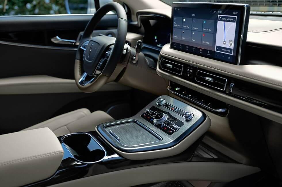 2021 Lincoln Nautilus iç tasarım