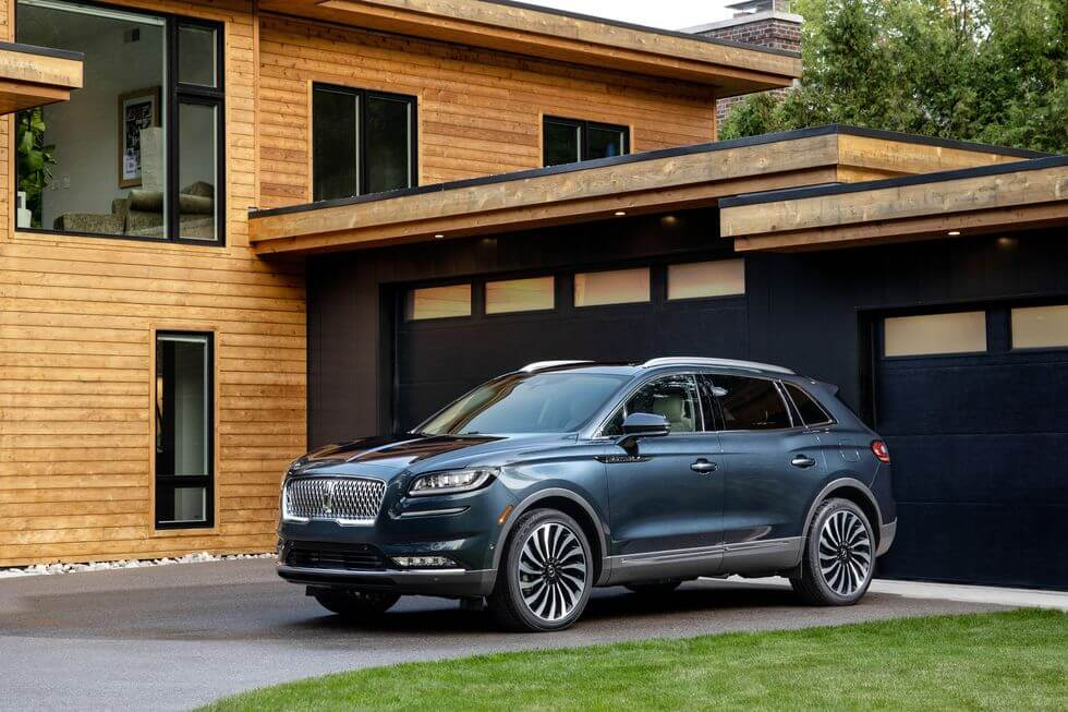 2021 Lincoln Nautilus yan tasarım