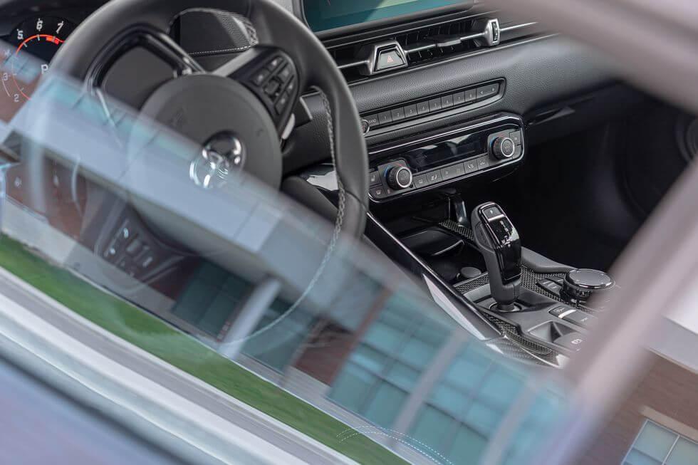 2021 Toyota Supra iç görünüm