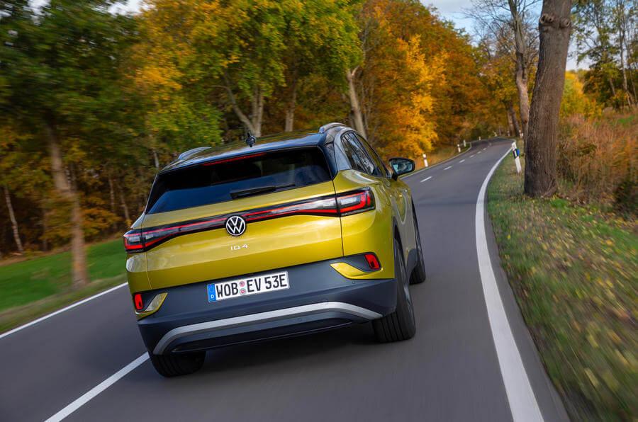 2021 Volkswagen ID 4 arka tasarım