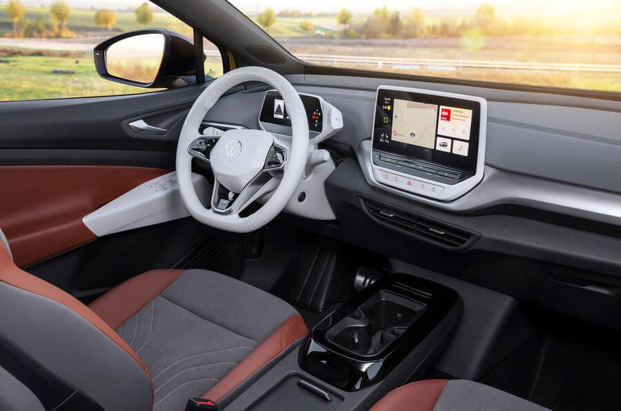 2021 Volkswagen ID 4 iç mekan tasarımı