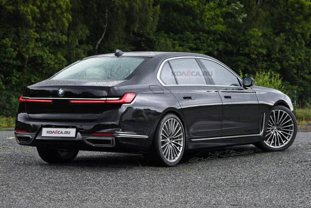 2021 Yeni BMW 7 Serisi böyle görünebilir
