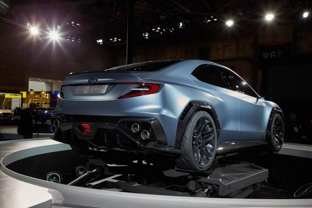 2022 Subaru WRX STI arka tasarım
