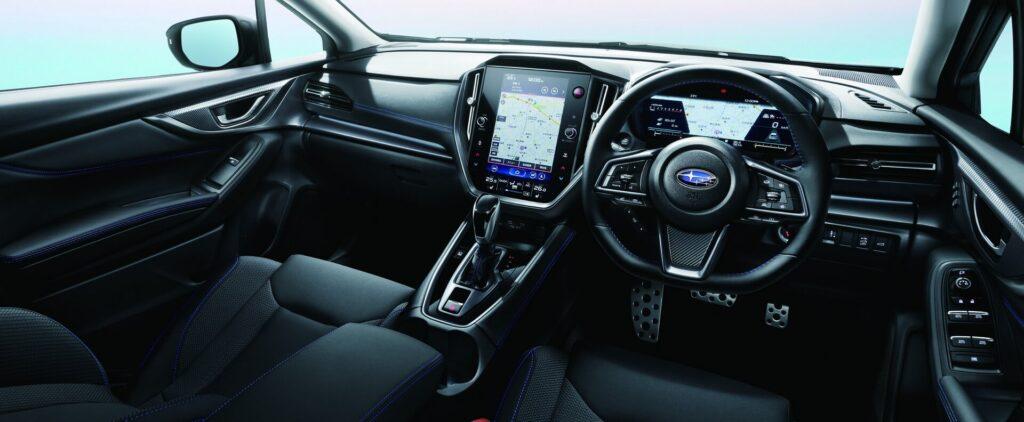 2022 Subaru WRX STI iç mekan