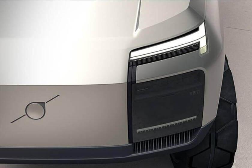 2022 Volvo XC100 LED farlar