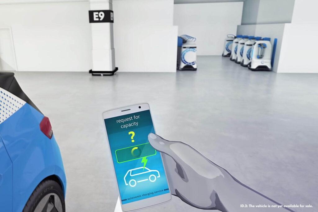 Volkswagen Şarj Robotu fotoğrafları
