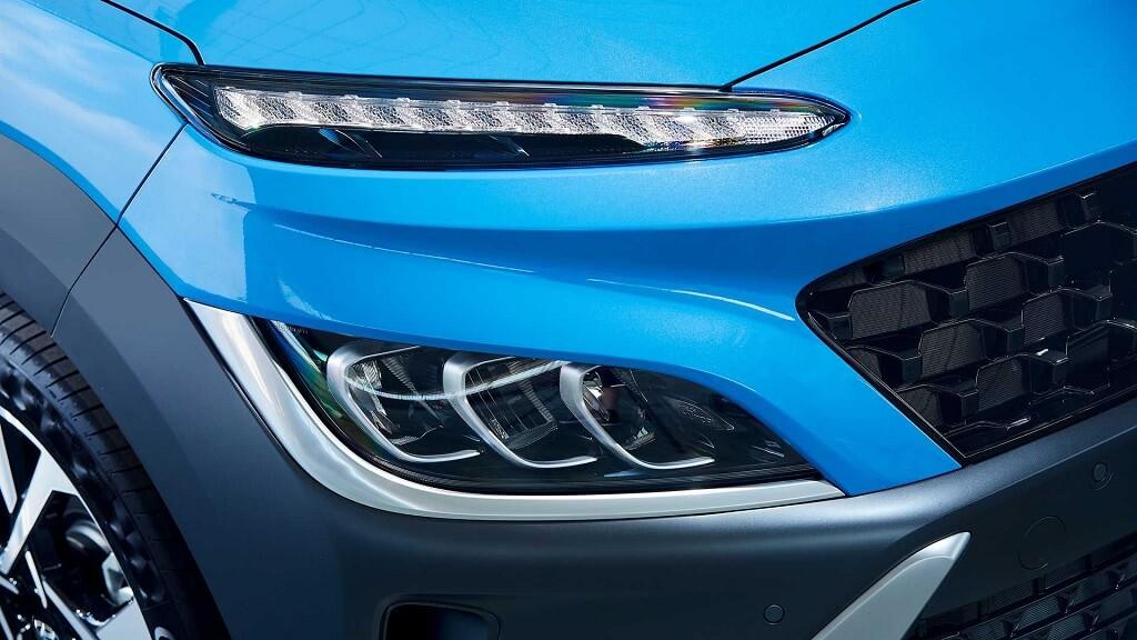 2021 Makyajli Hyundai Kona LED farlar