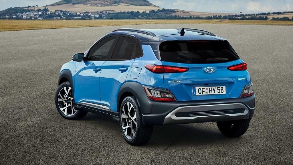 2021 Makyajli Hyundai Kona arka tasarım