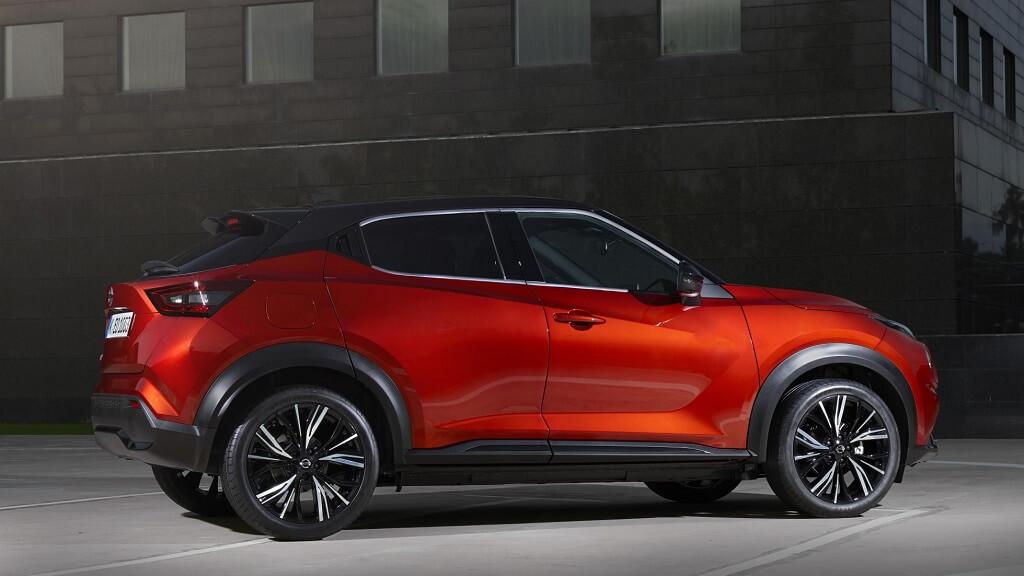 2021 Yeni Nissan Juke yan tasarım