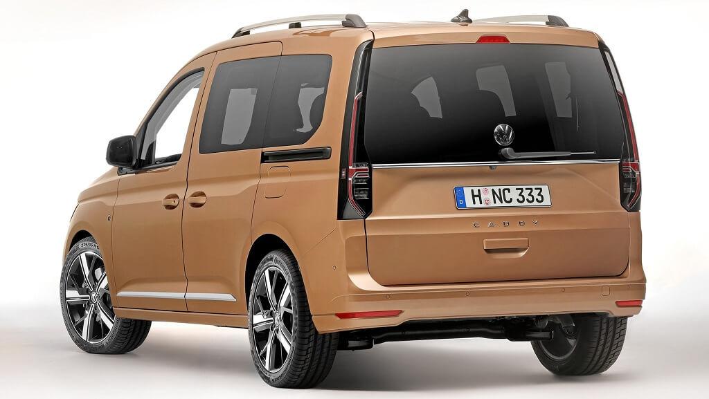 2021 Yeni VW Caddy arka tasarım