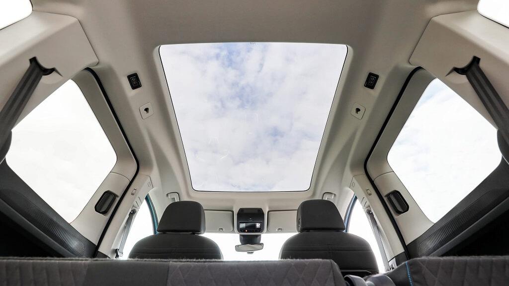 2021 Yeni VW Caddy cam tavan