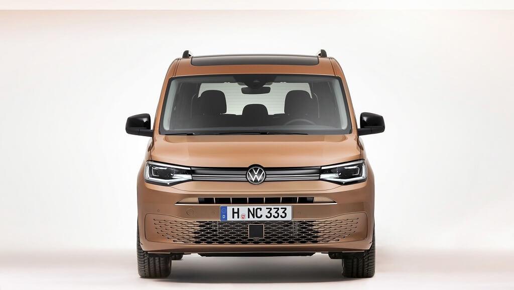 2021 Yeni VW Caddy fotoğrafları
