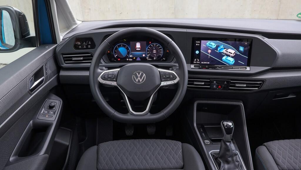 2021 Yeni VW Caddy iç mekanı