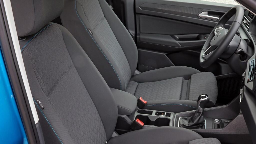 2021 Yeni VW Caddy koltukları